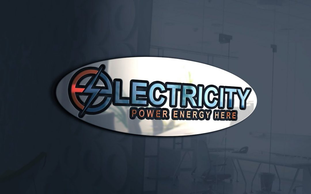 Professional Logo Design Photoshop cc Tutorial - Electricity Logo