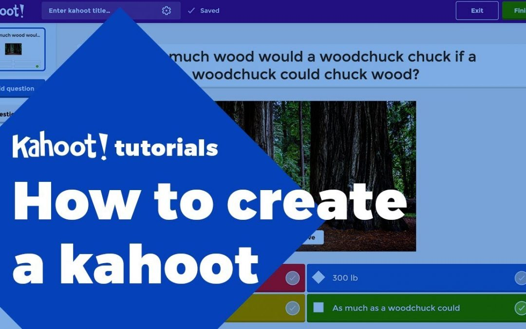 How to create a kahoot - tutorial