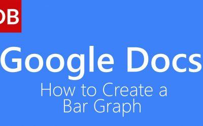 Do It Yourself – Tutorials – How to Create a Bar Graph | Google Docs Tutorial