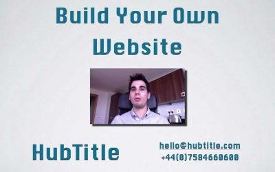 Do It Yourself – Tutorials – Build Your Own Website Intro – HubTitle London Web Design Agency