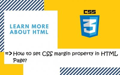 Do It Yourself – Tutorials – Introduction to CSS | 27. How to set CSS margin property in HTML page? | CSS in Hindi