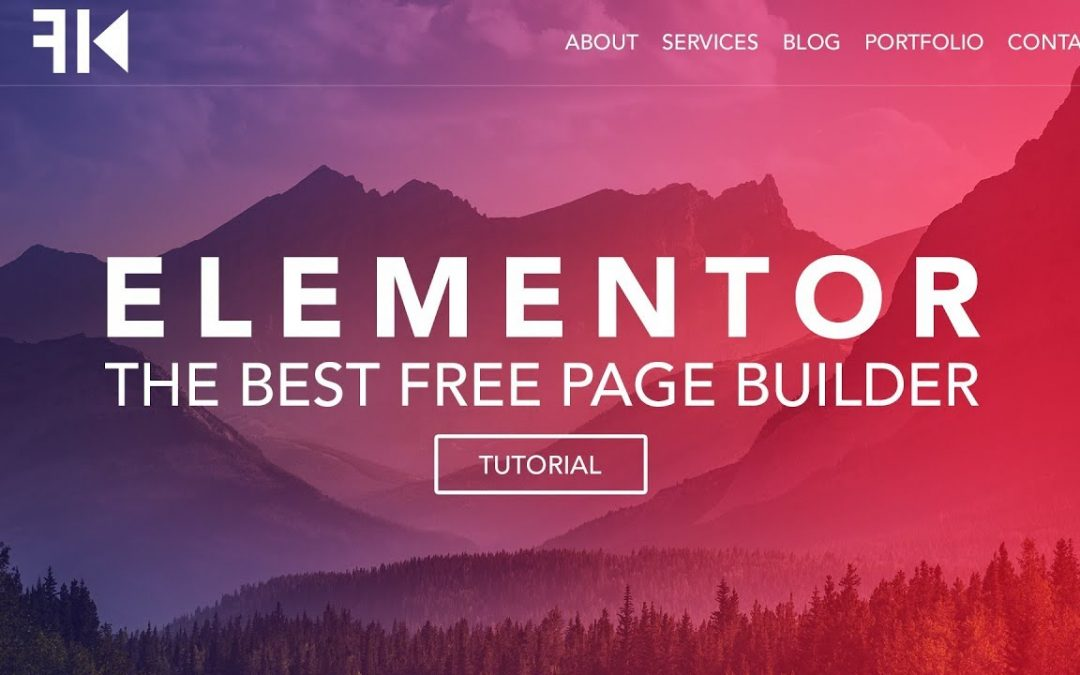 How To Make A Wordpress Website   Elementor