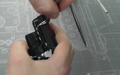 Do It Yourself – Tutorials – Hachette Partworks : Spitfire MK.1a : 1/18 Scale Model : Step By Step Video Build : Episode.3