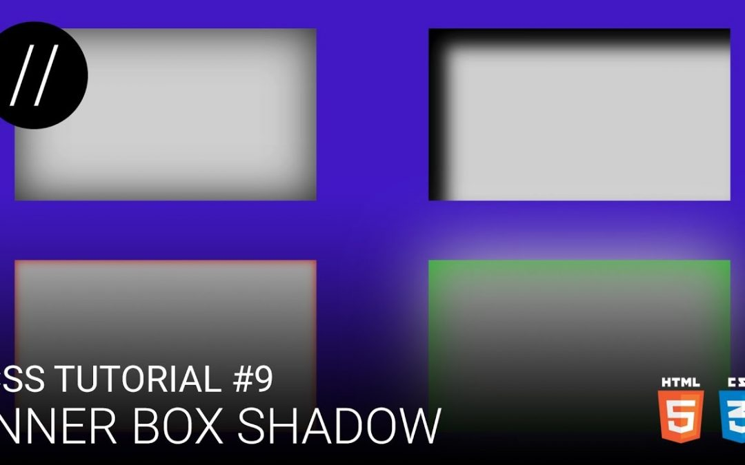 CSS Tutorial #9 — Inner Box Shadow [UP/TO/DATE]