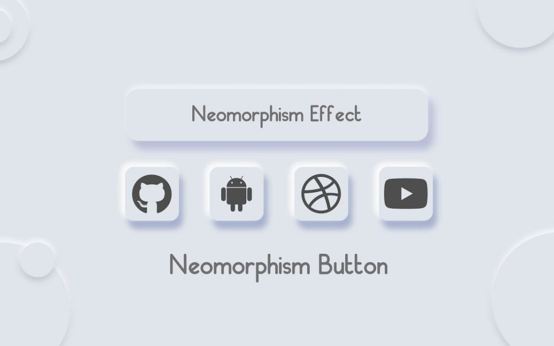 Button With Neumorphism Effect Using HTML CSS |Neumorphism css