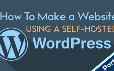 WordPress For Beginners – How to Make Website Using WORDPRESS | Step-by-Step Tutorial [Part 2]
