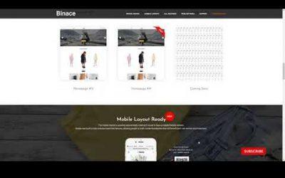 Binace – Fashion Shop WordPress WooCommerce Theme clothes multivendor Build Website