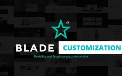 Blade Theme Full Customization | WordPress Theme Customization | CodersHubBD