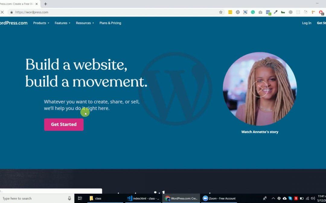 Create Your Free Website on WordPress #Wordpress | #AskHarish