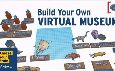 Do It Yourself – Tutorials – Build Your Own Virtual Museum! | TinkerCAD Tutorial | Amaze Your Brain at Home