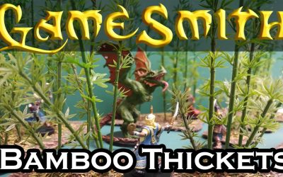 Do It Yourself – Tutorials – Building Bamboo Thickets Scatter Terrain for your Tabletop Game (2020) GameSmith S01E027