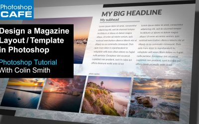 Do It Yourself – Tutorials – Create a magazine layout Template in Photoshop Tutorial | Download the Free Template