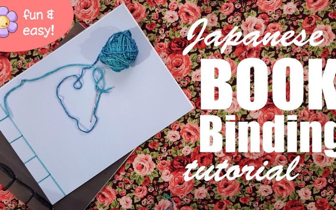 Create your own books! Japanese Book Binding tutorial