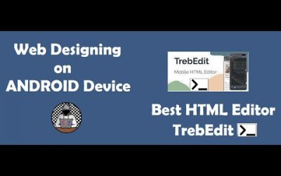 Do It Yourself – Tutorials – Design Your Own Website full tutorial in Hindi || TrebEdit – Best HTML, CSS coding App for Android