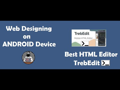 Design Your Own Website full tutorial in Hindi || TrebEdit - Best HTML, CSS coding App for Android