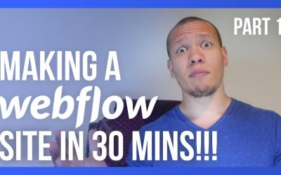 Do It Yourself – Tutorials – Design a Webflow website in 30 minutes (Part 1 of 3)