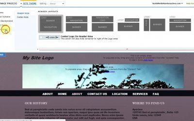 Do It Yourself – Tutorials – Designing your Website with Site Builder