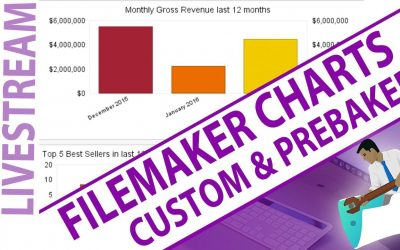 Do It Yourself – Tutorials – FileMaker Charts – Build Your Own Custom Charts and Prebaked – FileMaker Building Custom Charts Live