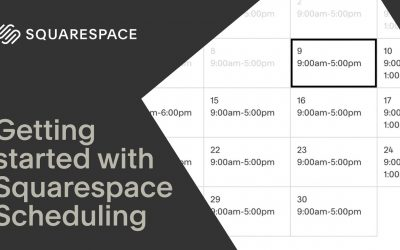 Do It Yourself – Tutorials – Getting Started with Squarespace Scheduling | Squarespace Tutorial