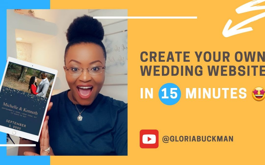 HOW TO CREATE THE PERFECT WEDDING WEBSITE IN 2020 (Easy Tutorial) Planning A Wedding In Ghana - TIPS