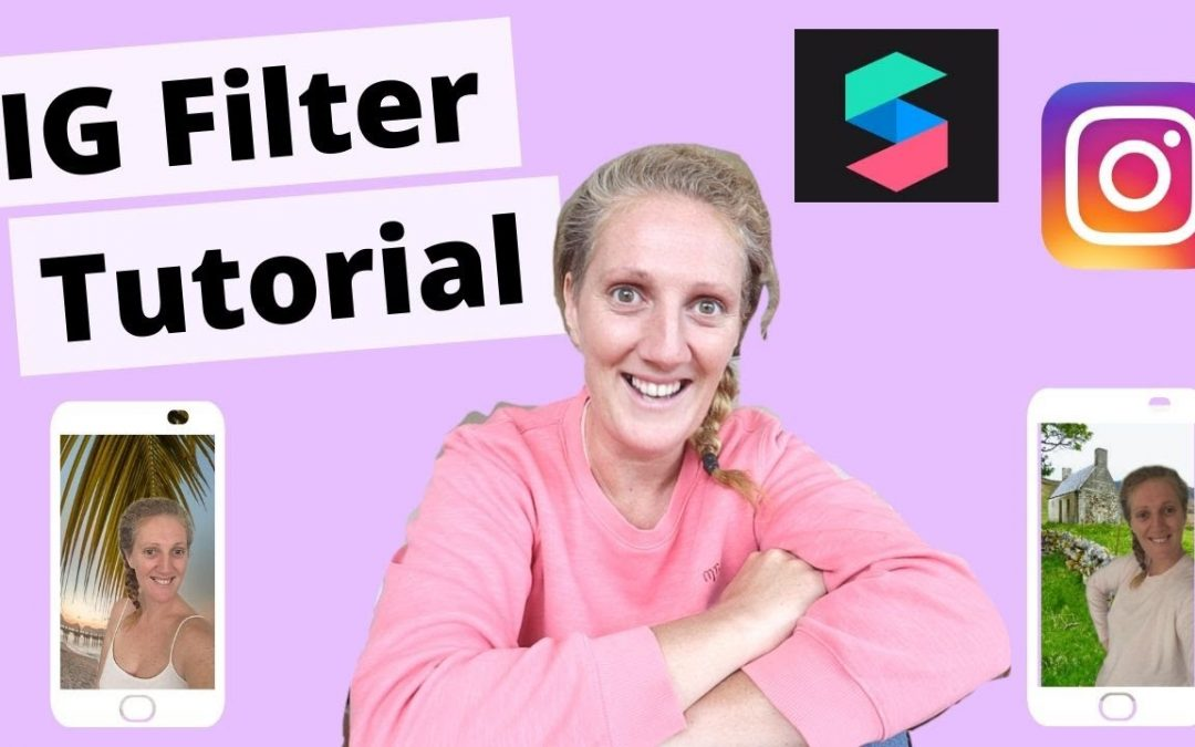 How To Create Instagram Story Filters - Spark AR Tutorial For Beginners
