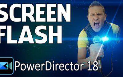 Do It Yourself – Tutorials – How To Make The Screen Shot Flash Effect | CyberLink PowerDirector 18