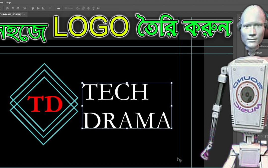 How to Create Professional Logo Design | Photoshop Tutorial