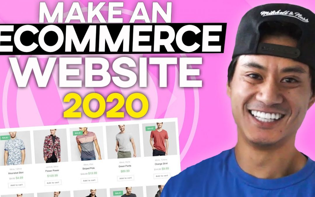 How to Make an Ecommerce Website With Wordpress 2020! - The Best ONLINE STORE