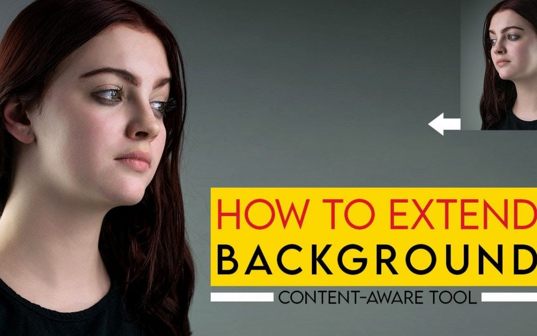 How to extend background in Photoshop | Photoshop Tutorial |
