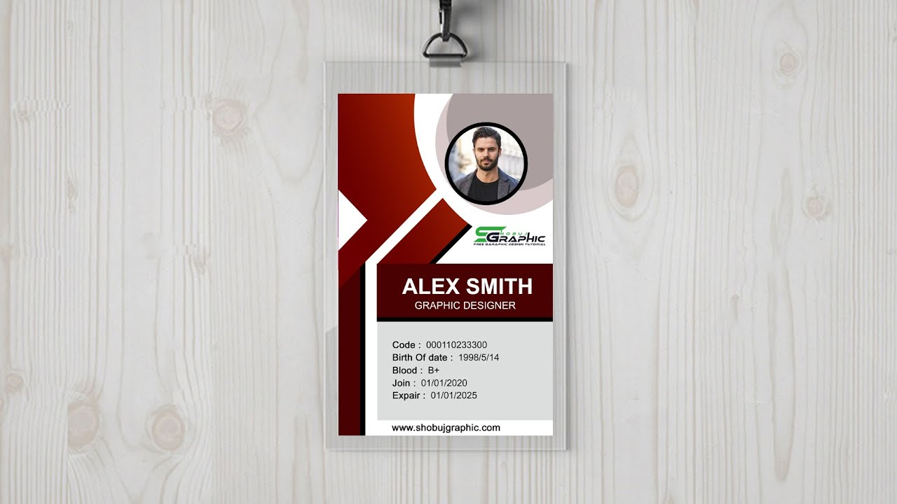 Do It Yourself – Tutorials – ID Card Design Photoshop Tutorial