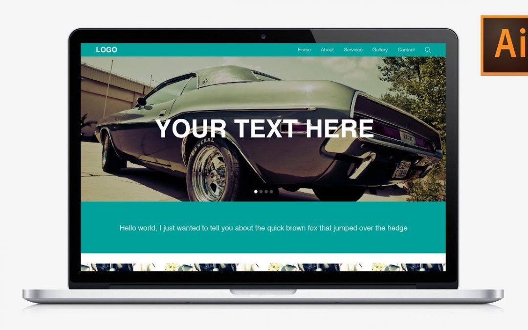Learn How to Design a Responsive Website in Adobe Illustrator - Part 3   Dansky