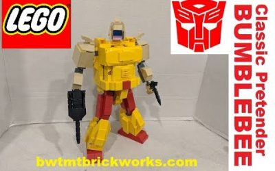Do It Yourself – Tutorials – Lego Transformers Classic Pretender Bumblebee by BWTMT Brickworks