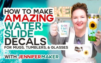 Do It Yourself – Tutorials – Make Amazing Waterslide Decals for Tumblers, Mugs, and Glasses!