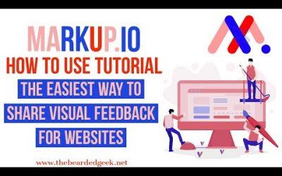 Do It Yourself – Tutorials – Markup.io | Website visual feedback tool | Tutorial 2020
