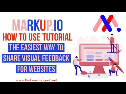 Markup.io | Website visual feedback tool | Tutorial 2020