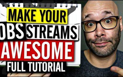 Do It Yourself – Tutorials – OBS Studio Tutorial (Make Your Streams Look Pro)
