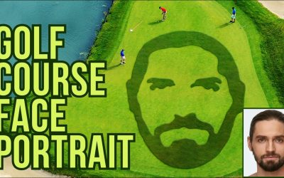 Do It Yourself – Tutorials – Photoshop: Create a Golf Course, Putting Green Face Portrait!