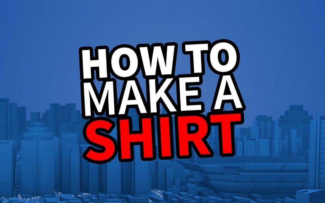 How Do You Make A Shirt On Roblox لم يسبق له مثيل الصور Tier3 Xyz