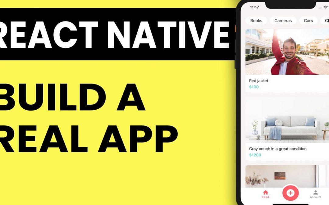React Native Tutorial 2020 - Build a React Native App