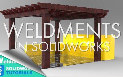 Do It Yourself – Tutorials – SolidWorks Weldments – Design a Pergola