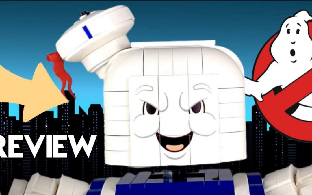 Stay Puft Marshmallow Man LEGOReview