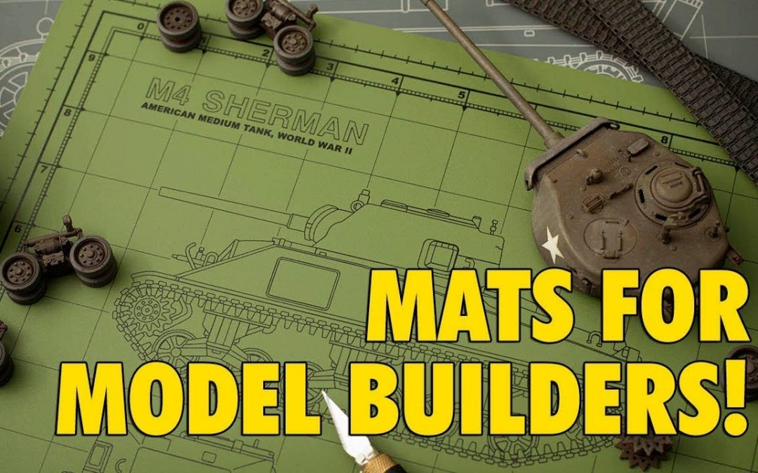 Tankraft : Custom Cutting Mats : For Scale Modeling : Product Review