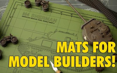 Do It Yourself – Tutorials – Tankraft : Custom Cutting Mats : For Scale Modeling : Product Review