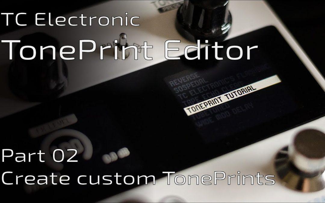 TonePrint Editor part II: Create your custom TonePrints