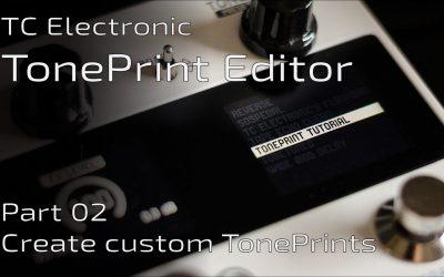 Do It Yourself – Tutorials – TonePrint Editor part II: Create your custom TonePrints