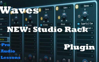 Do It Yourself – Tutorials – Waves NEW Studio Rack [Free Plugin] Demo: Build your own MultiBand Compressor! Ft. Michael Oskam