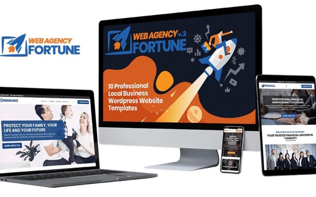 Web Agency Fortune Volume 2 Review Demo Bonus - 10 Local Business Websites + 1 DFY Agency Website
