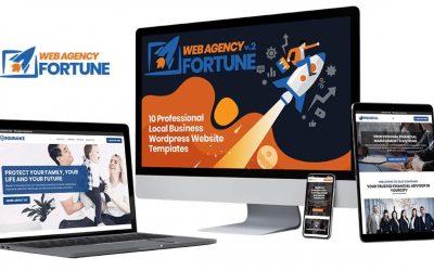 Do It Yourself – Tutorials – Web Agency Fortune Volume 2 Review Demo Bonus – 10 Local Business Websites + 1 DFY Agency Website