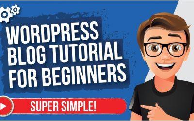 Do It Yourself – Tutorials – WordPress Blog Tutorial For Beginners [MADE EASY]