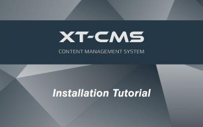 Do It Yourself – Tutorials – XT-CMS : CMS Installation Tutorial